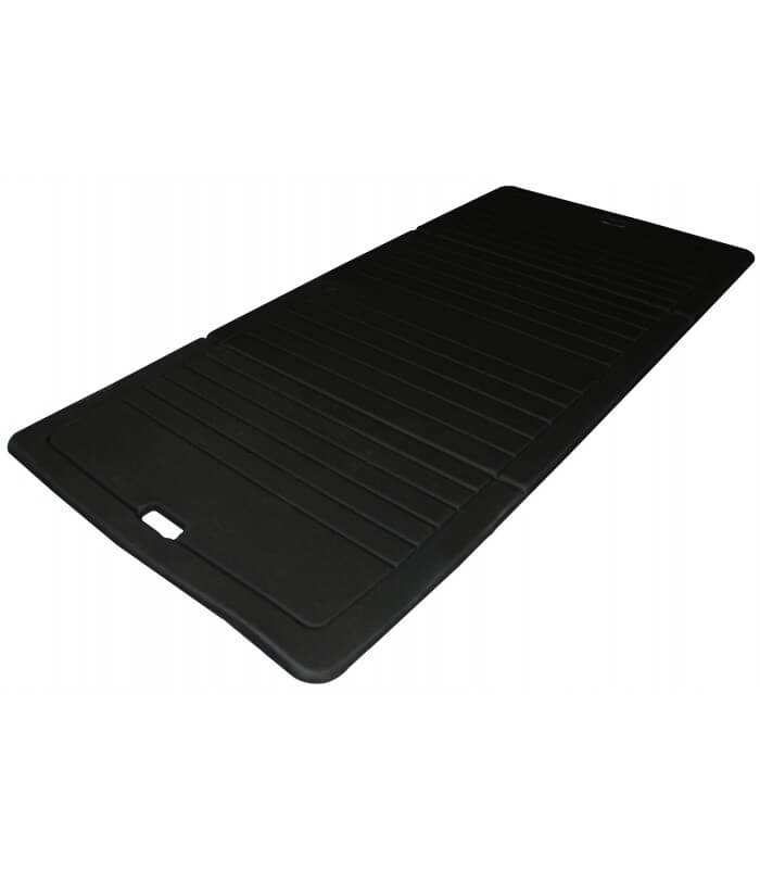 Foldable foam mat black 190x90 cm