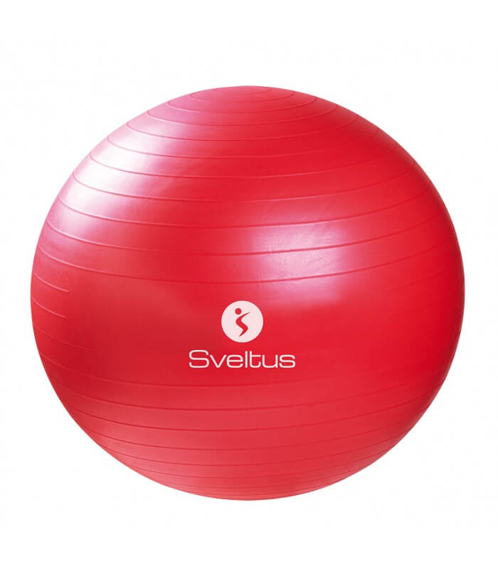 Gymball rouge Ø65 cm vrac