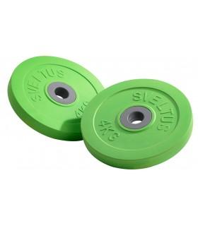 Discs Fit'us 4 kg (by pair)