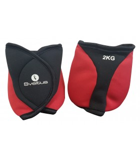 Ankle weighted cuffs - 2kg