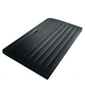 Tapis pliable noir 190x90 cm