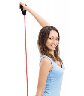 Fitness tube rouge strong sachet