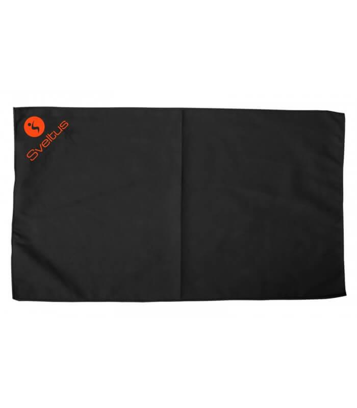 Serviette microfibre noir 130x80 cm x1