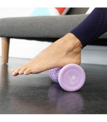 Rouleau de massage pieds lilas