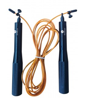 Weighted aluminium skipping rope