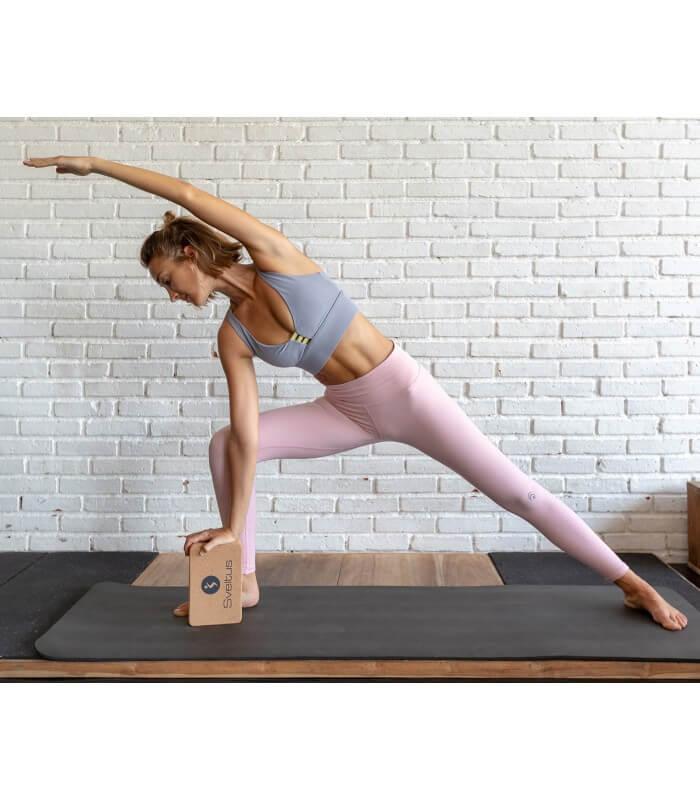 Yoga brick en liège