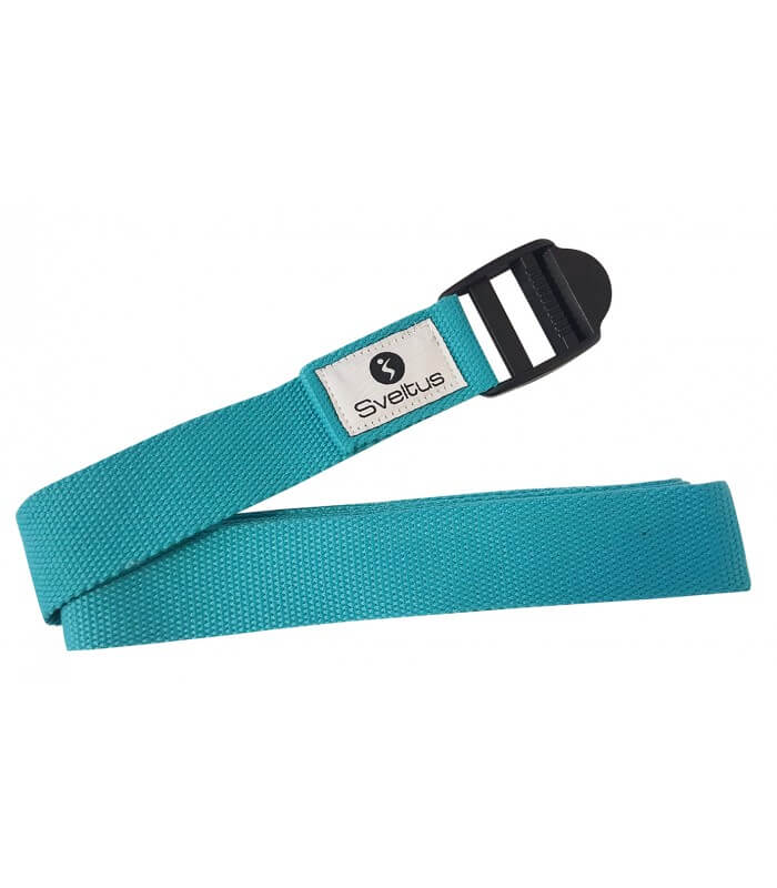 Yoga belt blue