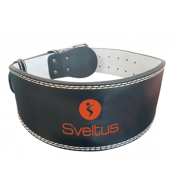 Leather weightlifting belt 125 cm