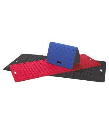 Foldable foam mat red 170x70 cm