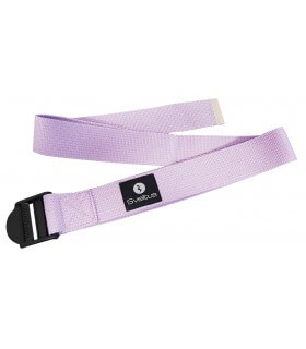 Sangle de Yoga lilas fourreau
