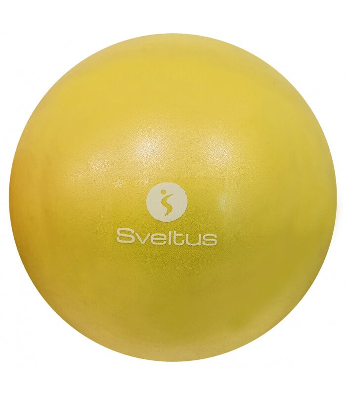Ballon pédagogique jaune Ø 22/24 cm