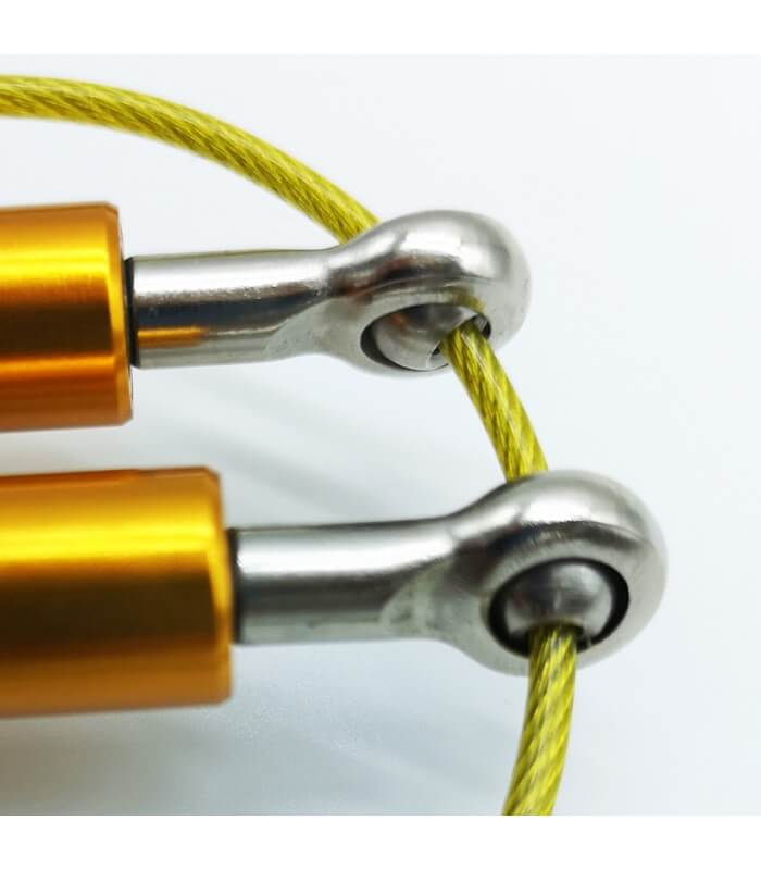 Aluminium skipping rope