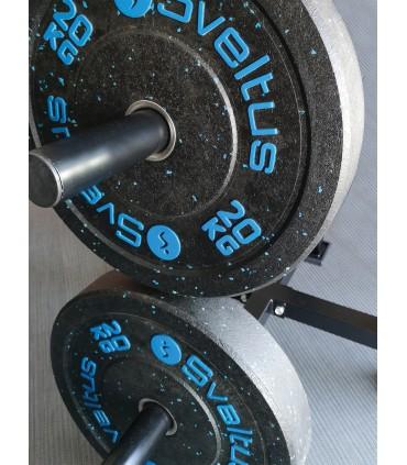 Olympic discs rack