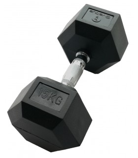 Hexagonal dumbbell 15 kg x1