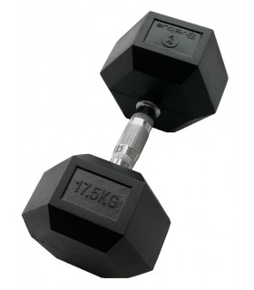 Hexagonal dumbbell 17.5 kg x1