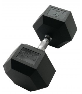 Hexagonal dumbbell 30 kg x1