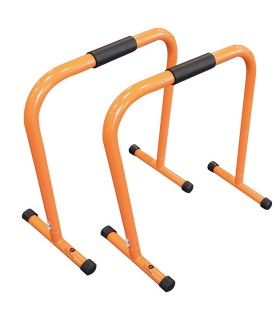 Parallel fitness bars orange h72cm x2