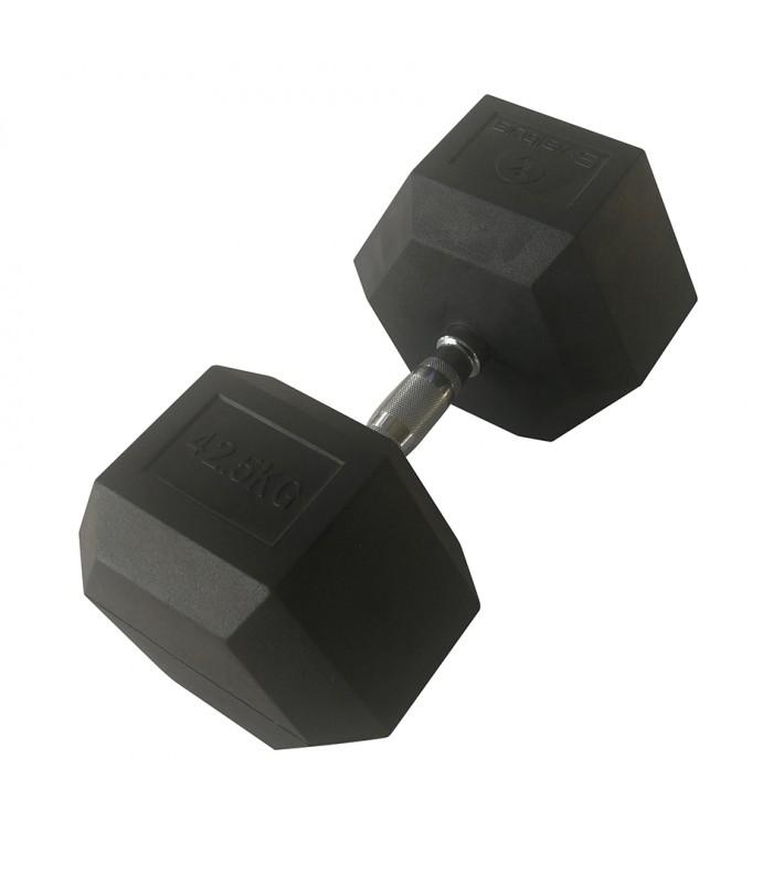 Hexagonal dumbbell 42.5 kg x1