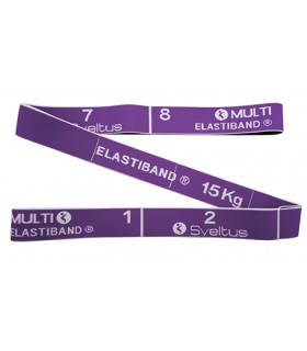 Multi Elastiband purple 15 kg bulk