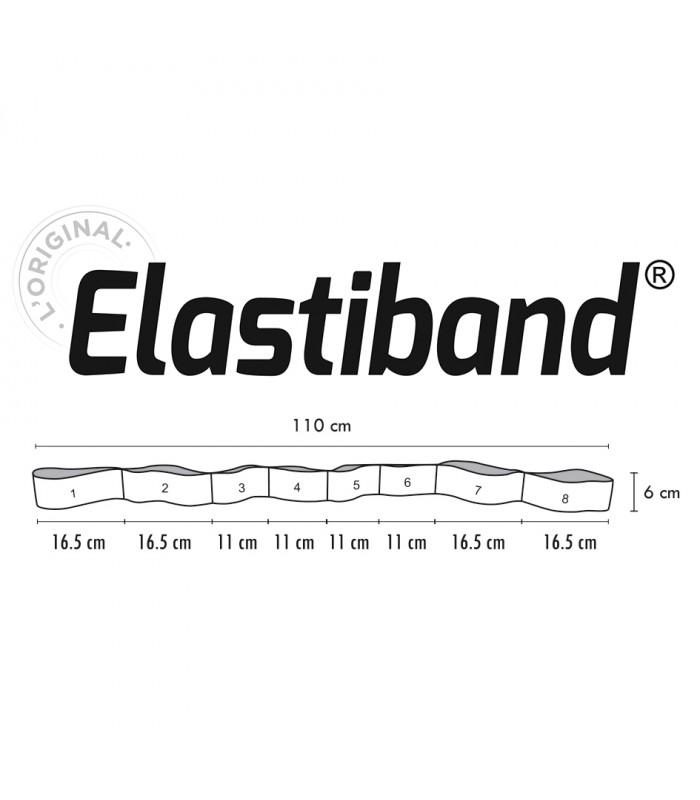 Multi Elastiband blue 20 kg bulk