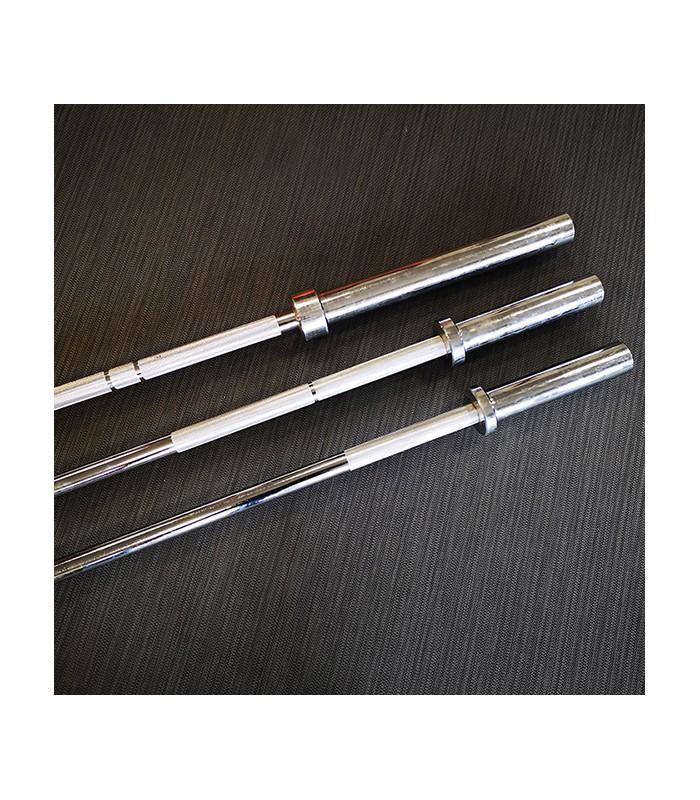 Training bar 220 cm + 2 spring collars