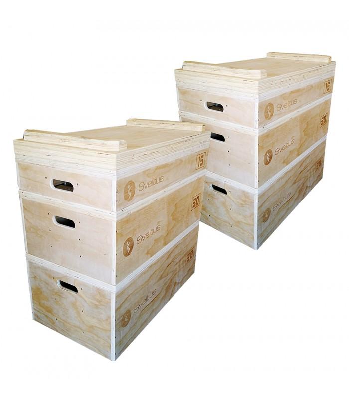 Set de jerk blocs en bois