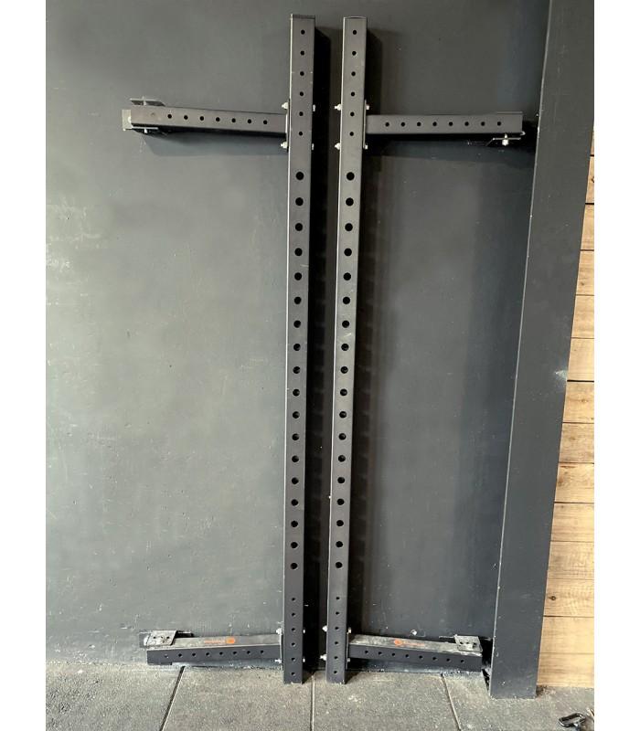Foldable wall rig