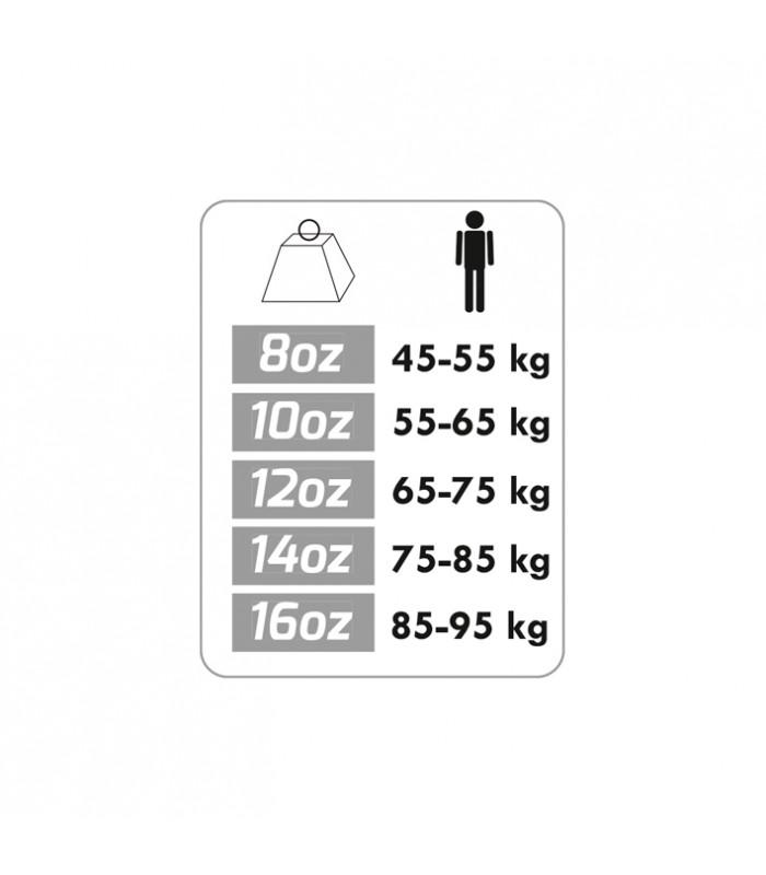 Gant boxe contender taille 16oz x2
