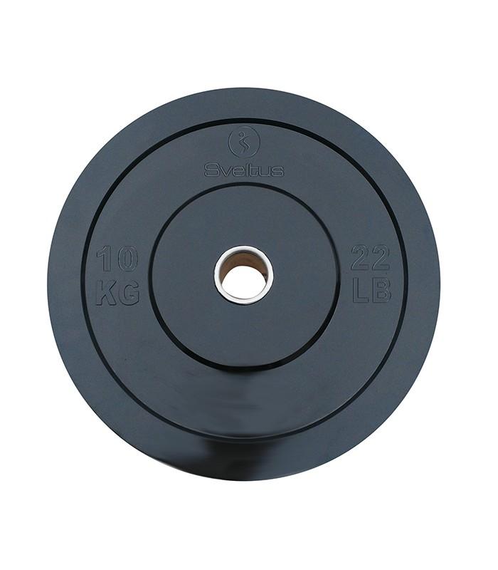 Disque olympique rubber 10 kg x1