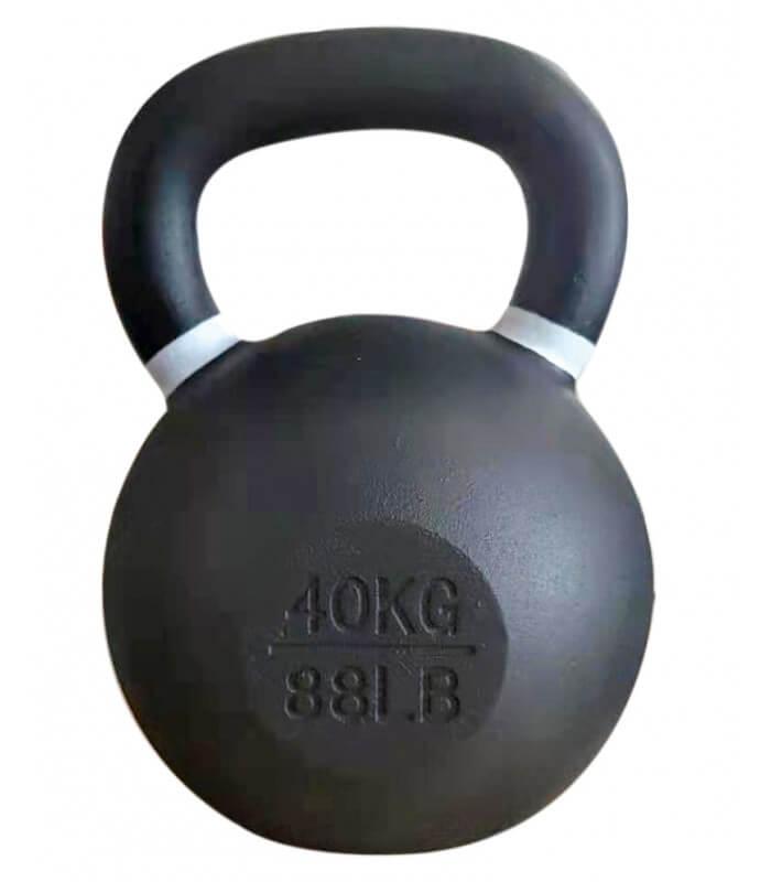 Kettlebell training 40 kg